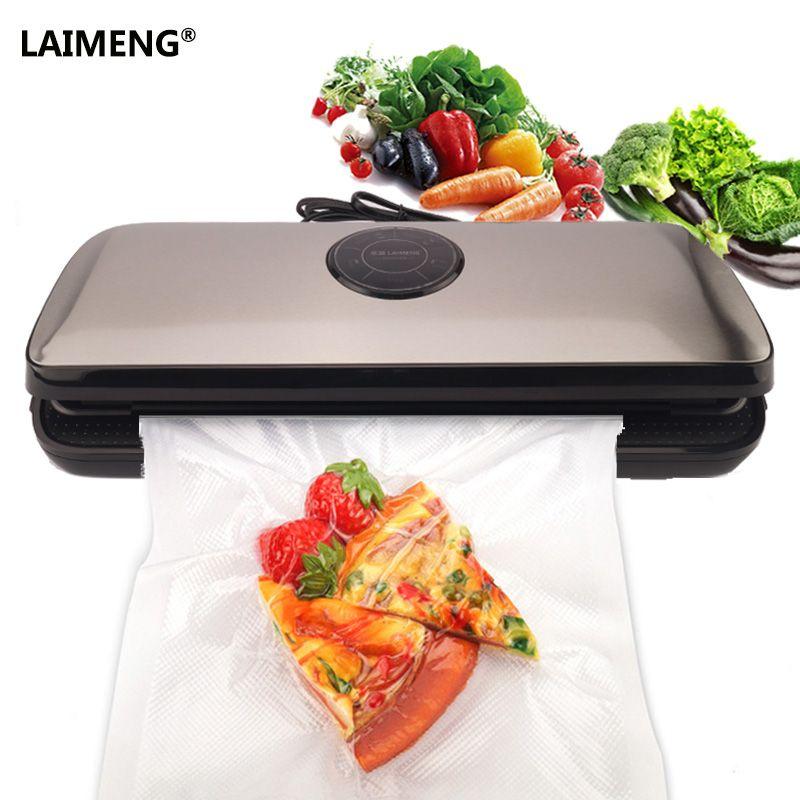 LAIMENG Vacuum Sealer Machine Kitchen Storage Appliance Vacuum Bags For Food Preservation Vacuum Packer 110V 220V Packing S153