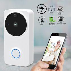 CTVMAN Outdoor Video Intercom Door Phone Wireless HD Video Call Intercoms For apartment Eletronic Doorbell Camera Wifi Doorphone