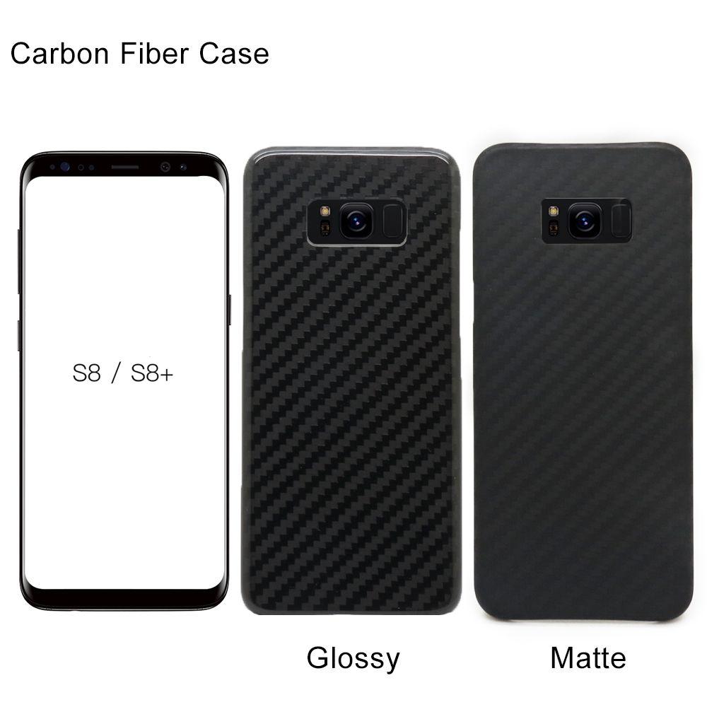 Telefon Abdeckung Real Carbon Fiber-Fall Für Samsung Galaxy S8 S8 Plus Ultra Thin Kevlar Aramid Kohlefaser Abdeckung für Samsung S9 S9 Plus