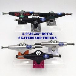 2 Pcs Amerika Serikat Royal Skateboard Truk 5.25