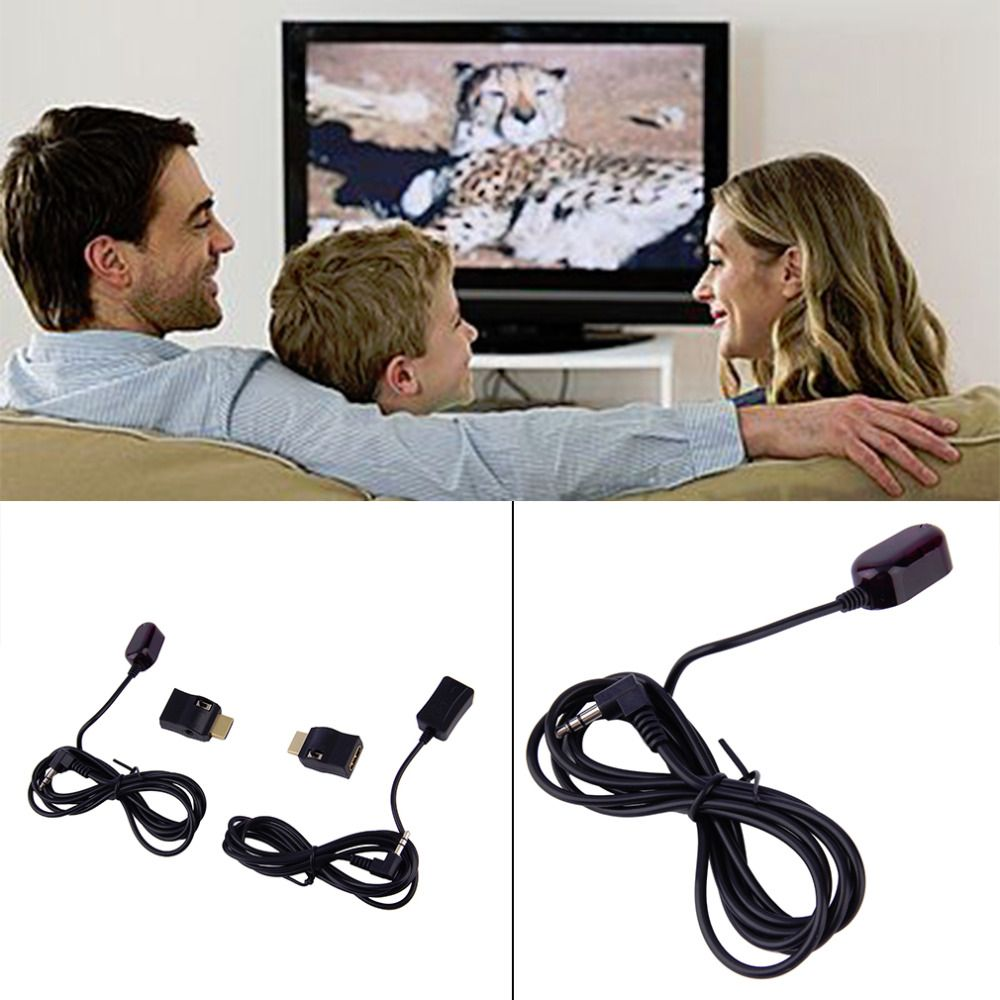 New IR Extender Over HDMI Remote Control Adapters Receiver Transmitter Cable Kit Wholesale Drop Shipping