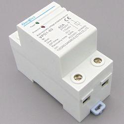 VPD1-60 230 В din-рейку автоматическое восстановление повторно перенапряжения и под напряжением Защитный протектор устройства защиты реле