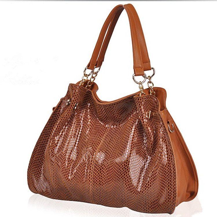 Luxury Brand Designer Women Bags 2017 100% Genuine Leather Handbags Casual Bags For Women Messenger CrossBody Crocodile Bag X-4