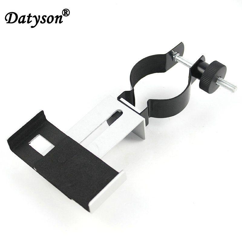 Datyson 0.965 ou 1.25 pouces Microscope télescopes métal universel support de photographie support pour adaptateur de connexion de téléphone portable