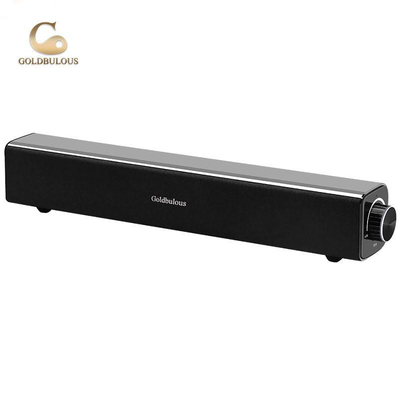 2018 hot cake wireless enceinte bluetooth soundbar tv speaker 20w bass music system one year labor warranty speakers computer