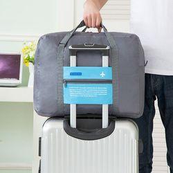 Del viaje del equipaje portátil mano Bolsas nylon impermeable mujeres bolsa de viaje de gran capacidad plegable unisex hombres Bolsas de viaje