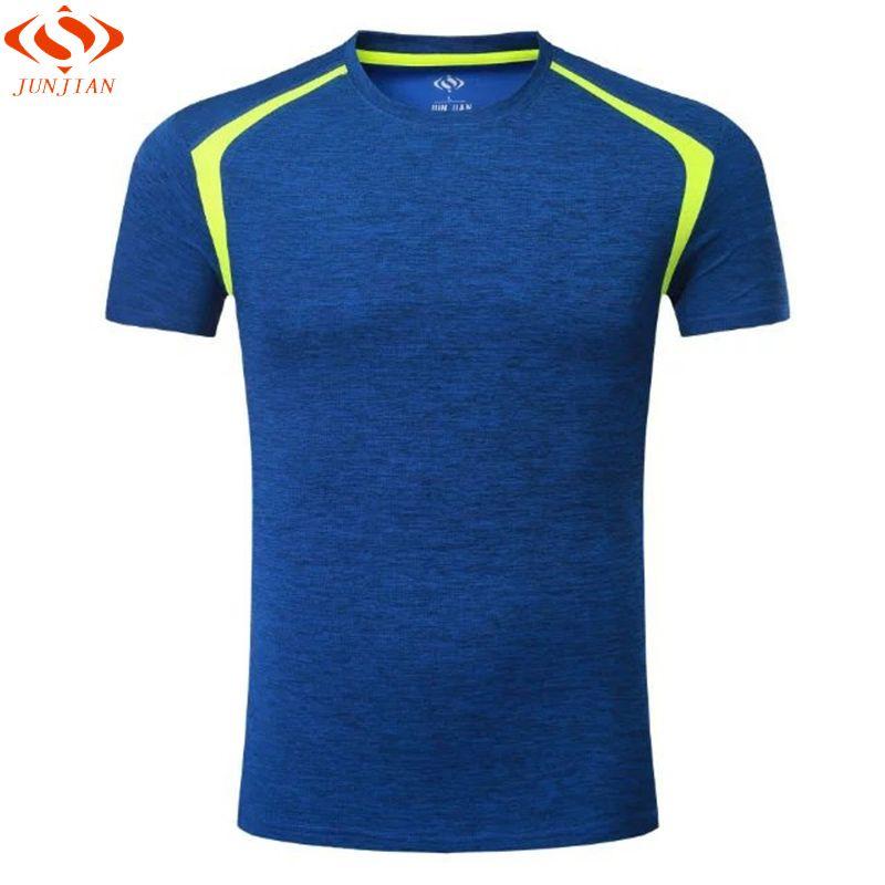 2017 Kurzarm Survêtement männer Sport Laufschuhe Hemd Quick Dry Basketball Fußball Training T-shirt Männer Turnhalle Kleidung Sportbekleidung