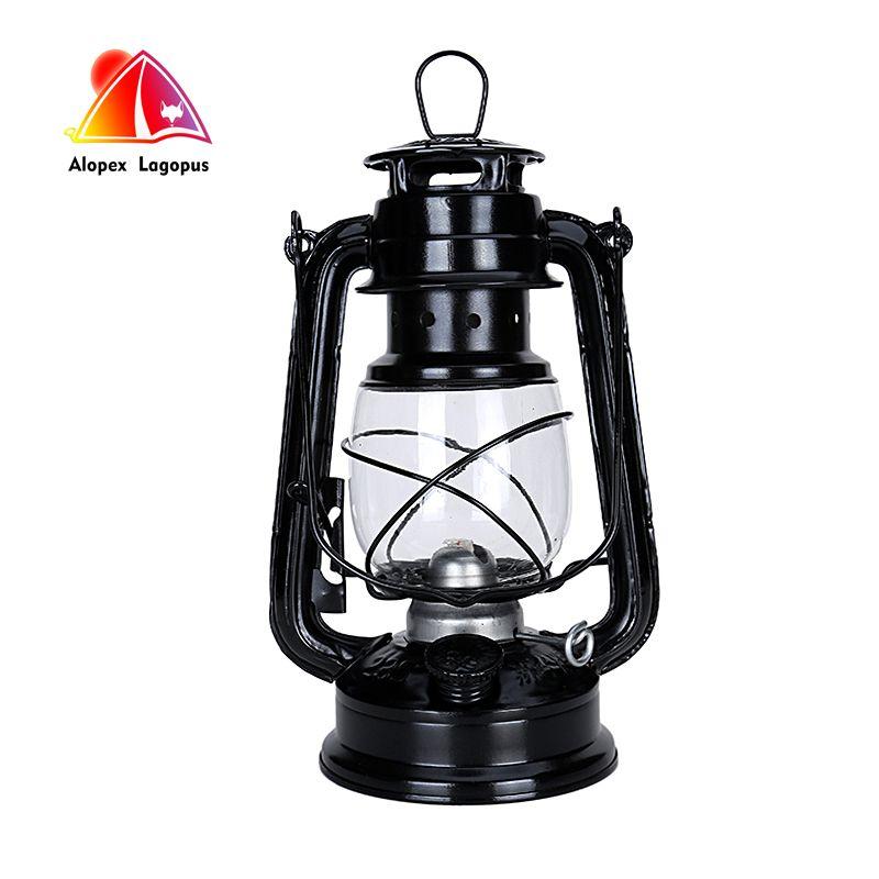 25 cm rétro classique kérosène lampe 6 couleurs 235 LED Dimmable kérosène lanternes mèche Portable lumières Portable lumières ornement