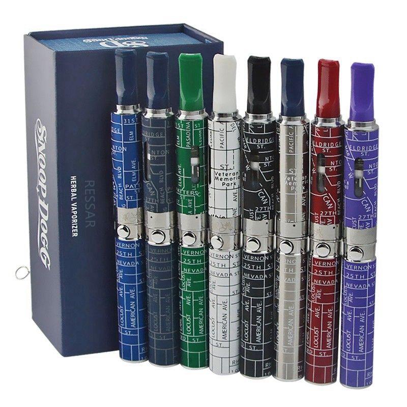 Snoop Dogg box Kits herbal vaporizer colorful wax dry herb blue atomizer vapor e electronic cigarette vape <font><b>start</b></font> kit