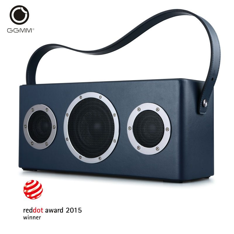 GGMM M4 Wireless WiFi Speaker Portable Bluetooth Speaker Audio HiFi Stereo Sound with Bass for iOS Android Windows MFi certified