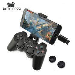 Android Gamepad Inalámbrico Para Android Phone/PC/PS3/TV Box 2.4G Joypad Del Regulador Del Juego Joystick Para Xiaomi Teléfono Inteligente