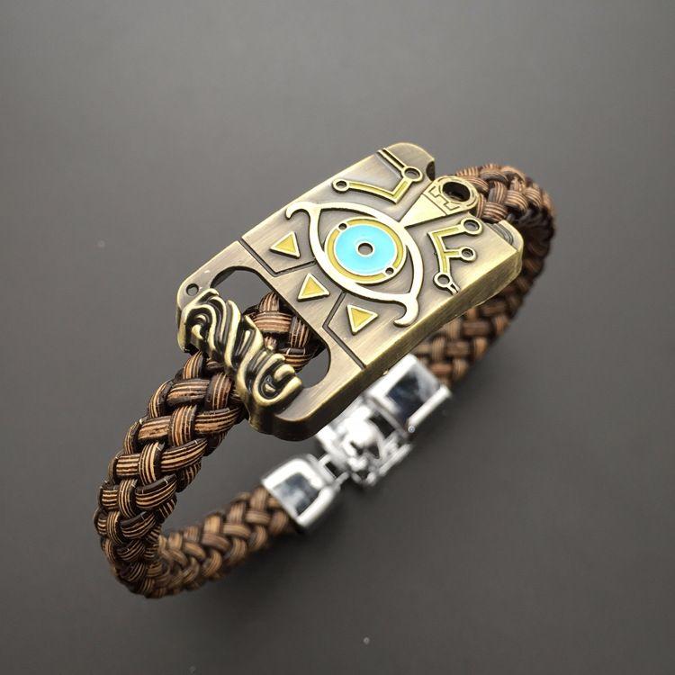 Die Legende von Zelda: atem der Wild Symbol Bronze Hand Kette Armband Wrist Strap Armband Schmuck Ornament Otaku Geschenk Kühlen