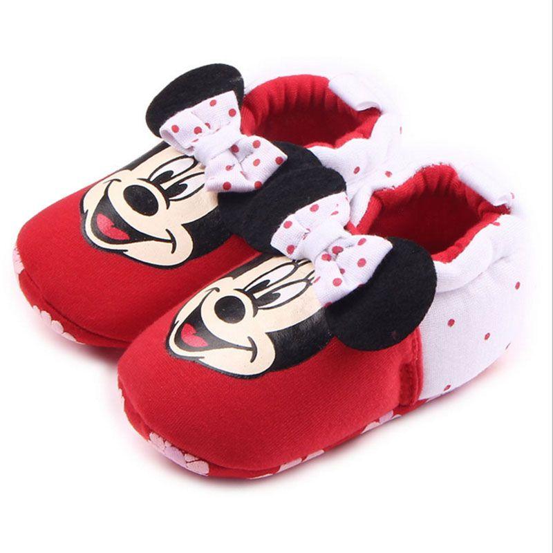 Весна и осень зима детские мальчики девочки новорожденных 4-15 месяцев две серии не может позволить себе, чтобы узнать Первые ходьбы обувь хл...