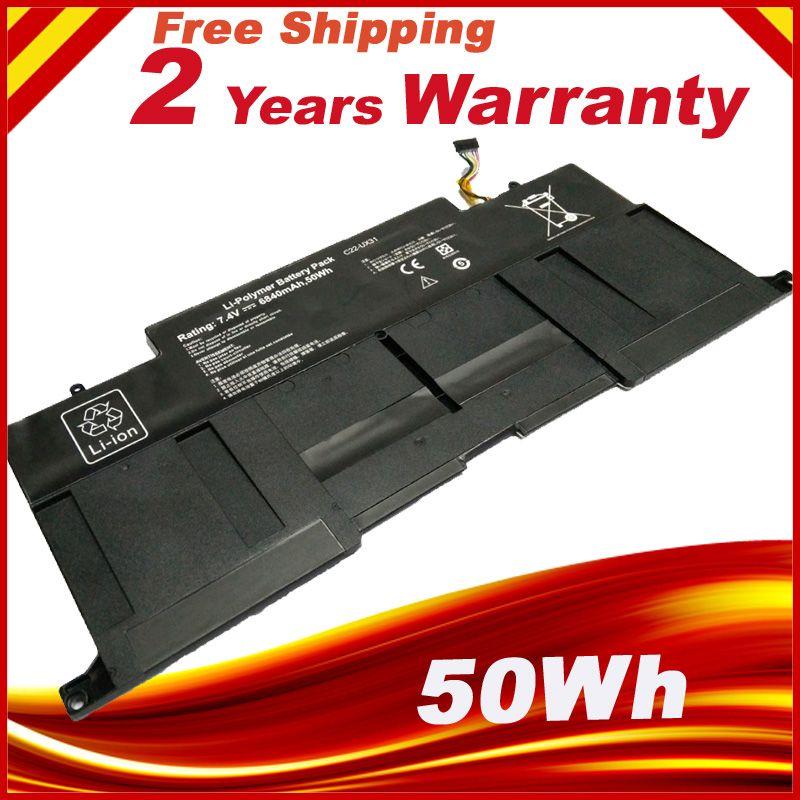 C22-UX31 Battery For Asus C23-UX31 ZenBook UX31A UX31E Ultrabook Series
