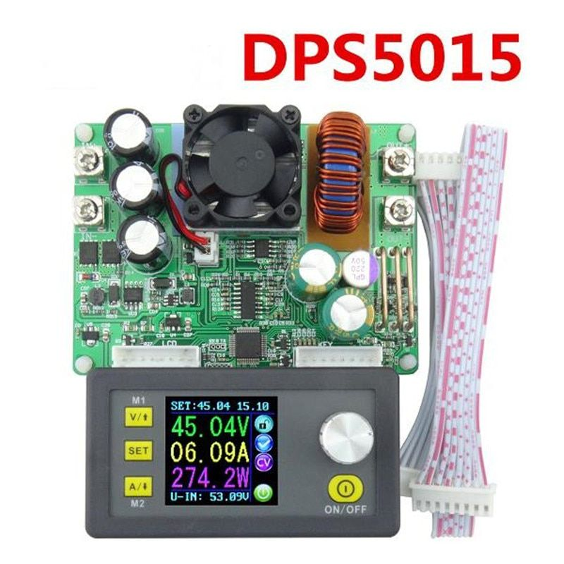 DP50V15A DPS5015 Programmable Supply Power Module Constant Voltage Current Step-down stored Buck Converter LCD Voltmeter