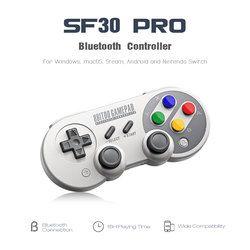 8 8bitdo SF30 Pro/SF30/SN30/SN30 Pro Gamepad Contrôleur Joystick pour Nintendo Commutateur Windows Android Rumble Vibration Motion