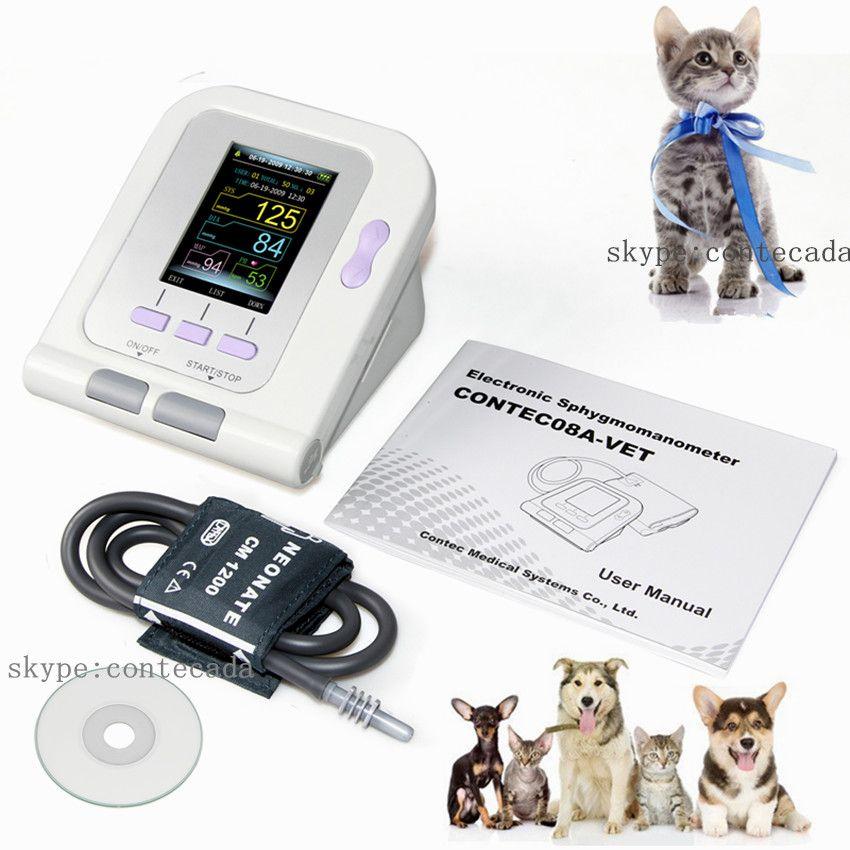 2018 Digital Veterinary Blood Pressure Monitor NIBP cuff,Dog/Cat/Pets CONTEC08A-VET,Software