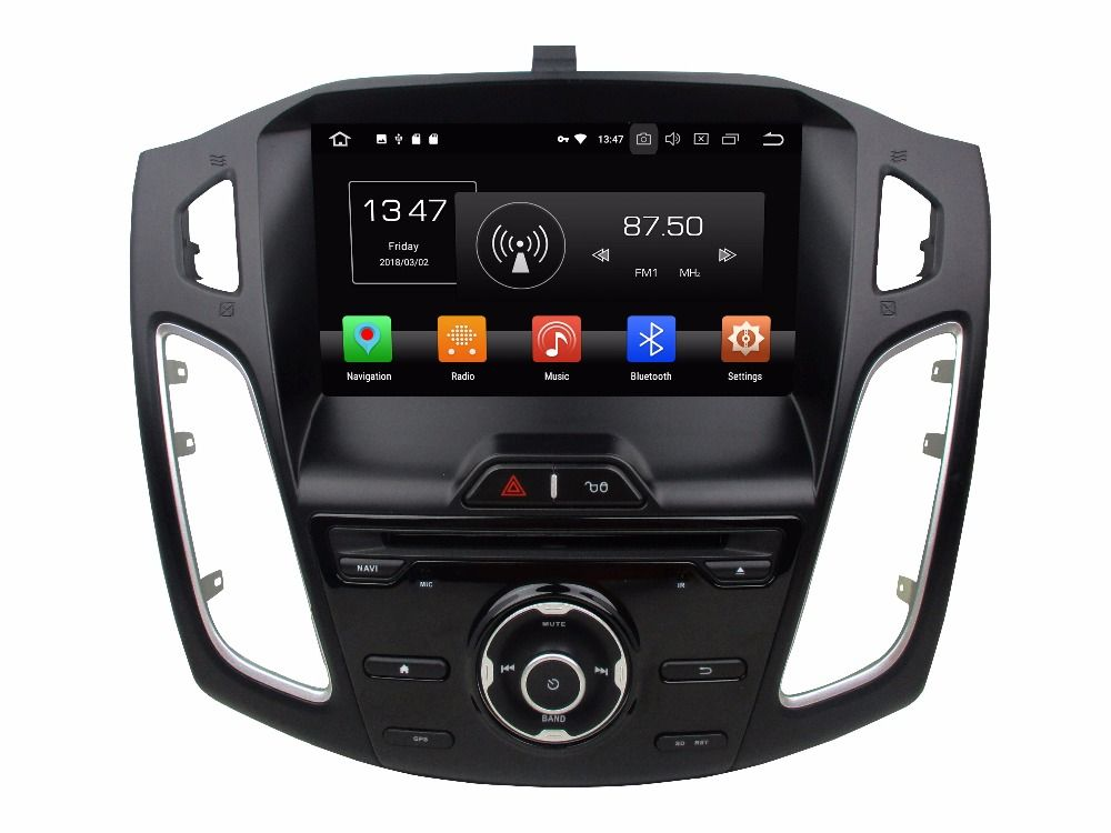 OTOJETA Android 8.0 car DVD player octa Core 4GB RAM 32GB rom for ford Focus 2012-2016 gps stereo radio recorder head units top