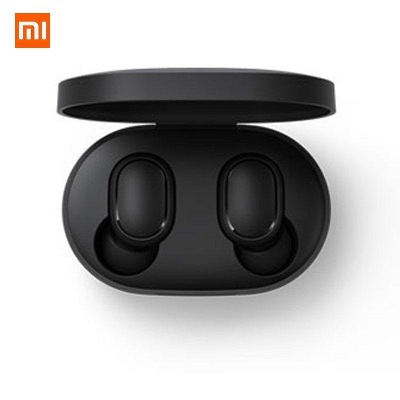 Xiaomi Redmi Airdots TWS Bluetooth écouteur stéréo basse BT 5.0 Eeadphones avec micro mains libres écouteurs AI contrôle