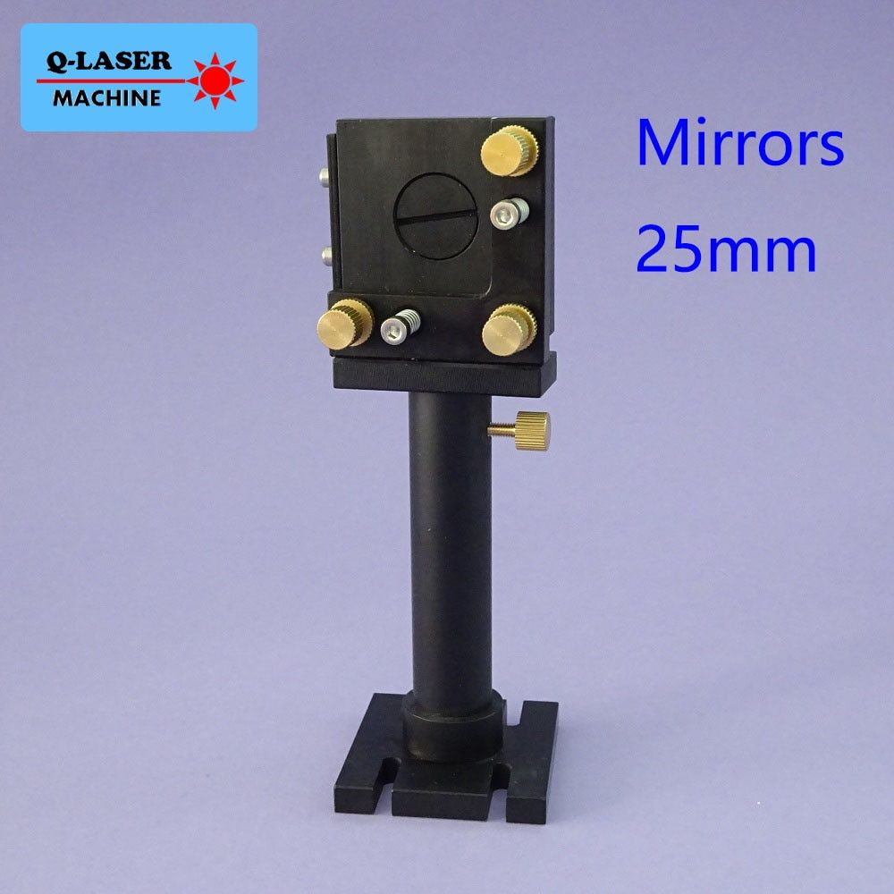 Co2 Laser First Mirror Mount 25mm for Laser Engraving and Cutting Machine