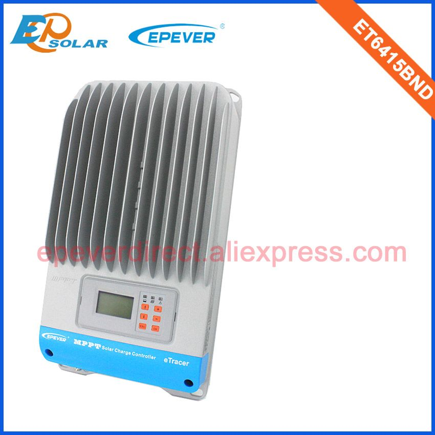 ET6415BND Max PV input 150V solar panels controller EPSolar mppt solar tracking 48V 24V 36V regulator charger battery 60A