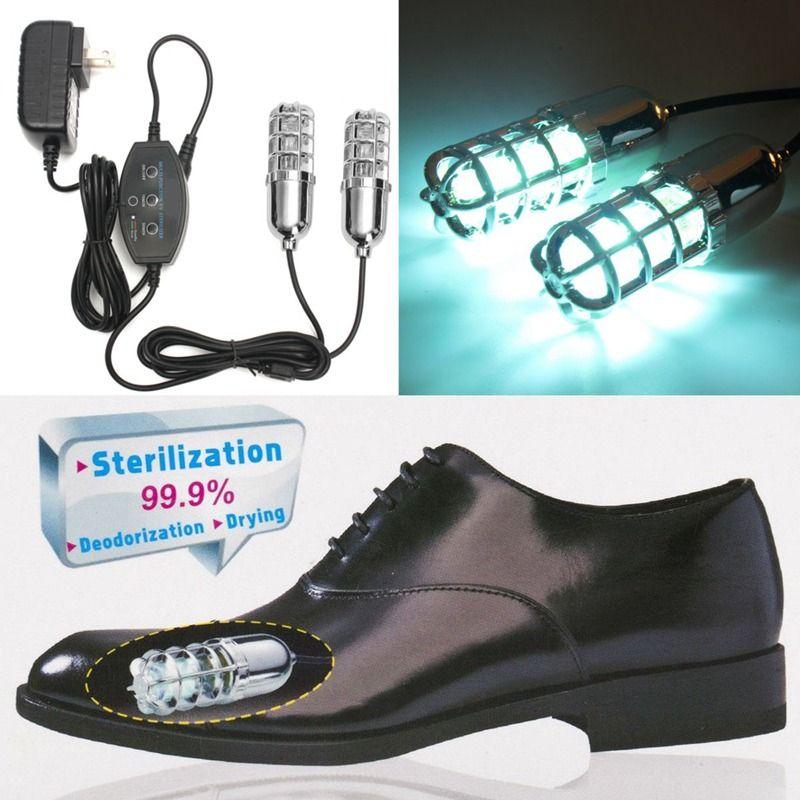 Tragbare Elektrische Schuhe Trockner Uv Schuh Sterilisator Zerstreuen Beriberi Fuß Entfernen Geruch Schuhe Sterilisation Lampe Haushalt