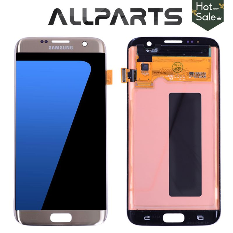 ORIGINAL 5.5'' Super AMOLED Screen for SAMSUNG Galaxy S7 Edge LCD Display G935 G935F G935FD SM-G935 Touch Screen Digitizer