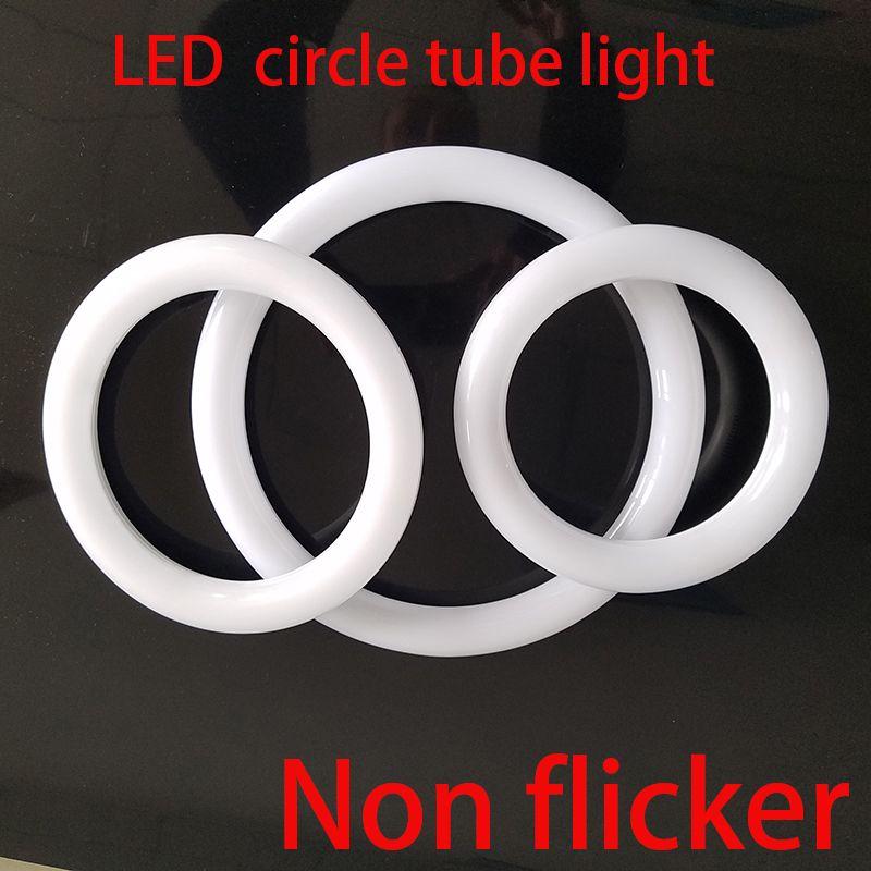 LED tubo circular círculo anillo lámpara 8 pulgadas circular T9 luz LED reemplazar fluorescente FC8T9 bombilla directamente sin modificar el cableado