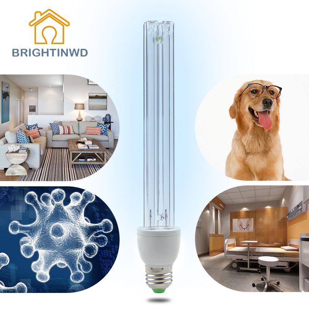 E27 Ultraviolet Lampes Tungstène UV Stérilisation à L'ozone Lampe 220 V 15 W 20 W Désinfection Germicide Lumières Lampe pour La Maison cuisine