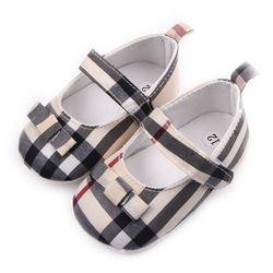 Enfants Enfants Filles Grille Bowknot Chaussures Non-Slip Premiers Marcheurs Bebes Zapatos Ninas Nouveau-Né Infantil Drapeau Marque Bébé Tout-petits