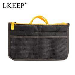 Portable Canvas Travel Bags Make Up Organizer Bag for Women Men Casual Multifunctional Cosmetic Makeup Toiletry Storage Handbag