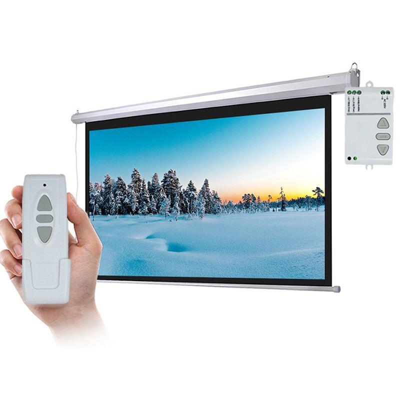 ANYSANE Rf télécommande obturateur rideau Radio contrôleur AC220V sans fil haut arrêt télécommande manuel pour Projection