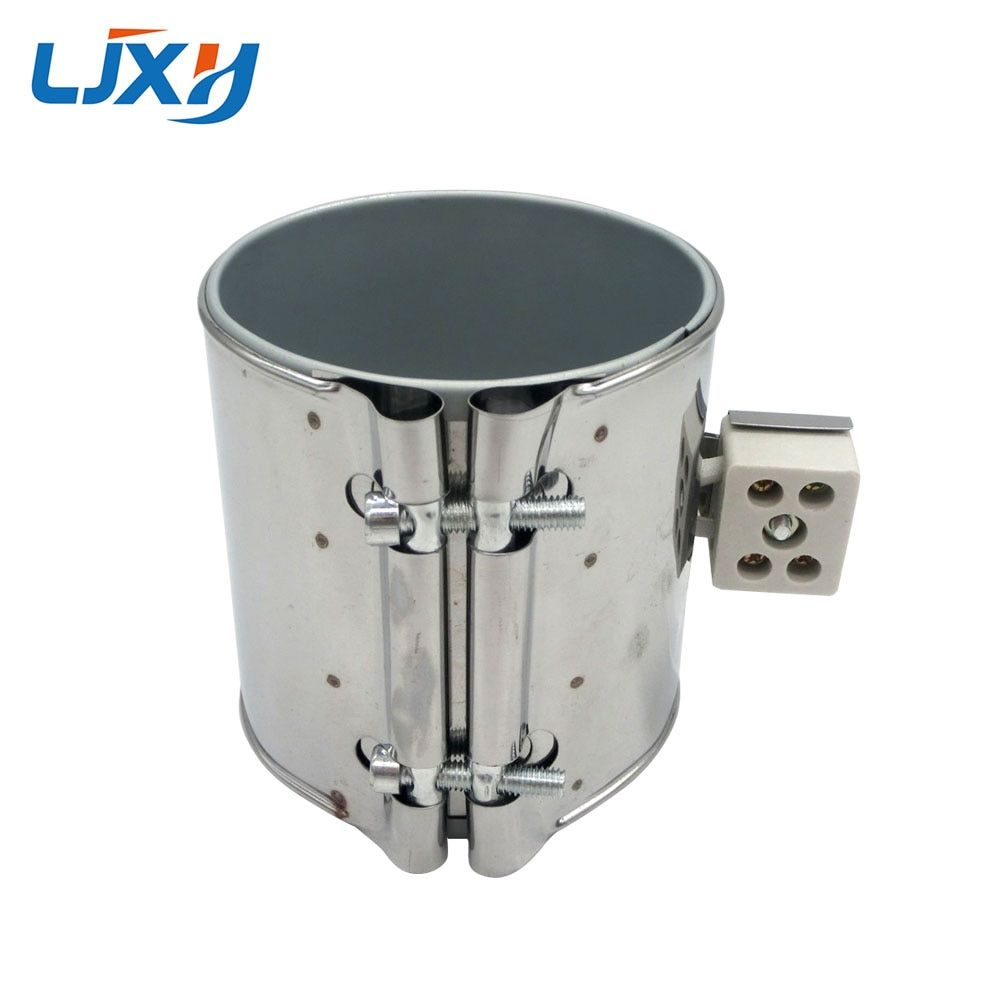 LJXH Stainless Steel Mica Band Heater Electric Industrail 220V 95x60mm/40mm/45mm/50mm/55mm Wattage 500W/370W/420W/460W/330W