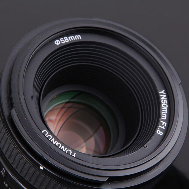 Supon YN 50mm f/1.8 AF Lens YN50mm Aperture Auto Focus Large Aperture for Nikon DSLR Camera as AF-S 50mm 1.8G
