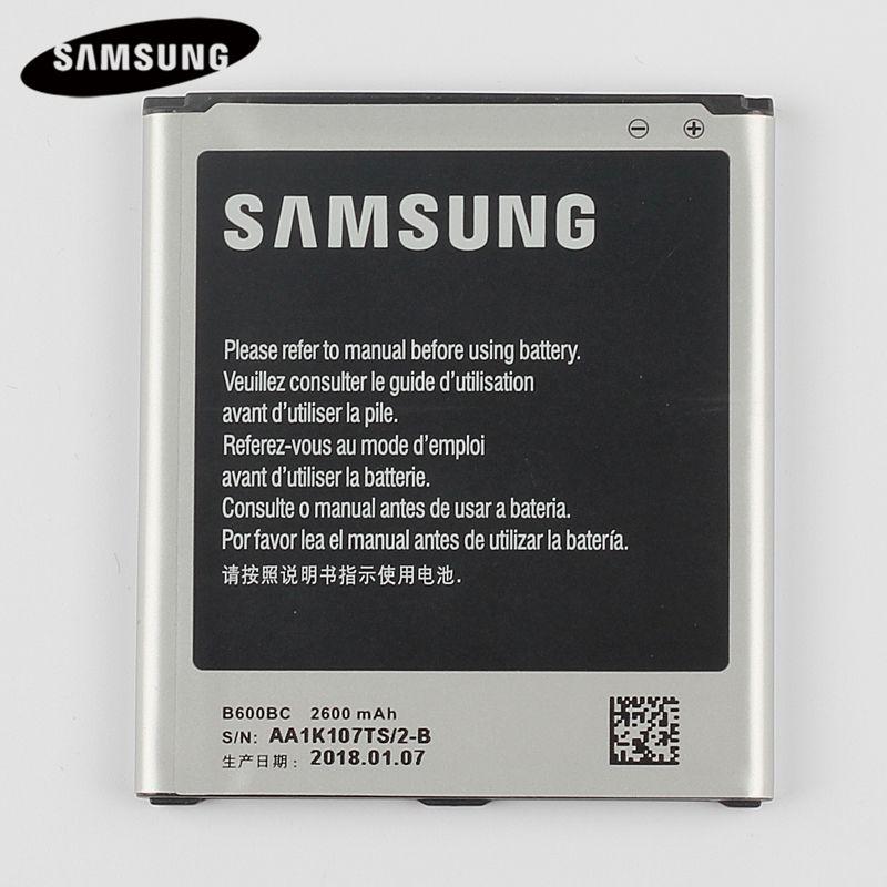 100% Batterie De Remplacement d'origine B600BC Pour Samsung GALAXY S4 I9500 I9505 I9506 I9507 I9508 SCH-P709E P709E i959 i337 2600 mah