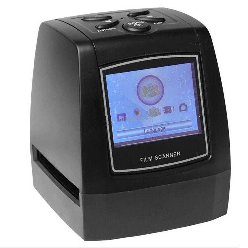 High fast Photo printe Resolution Super 8 Negative Photo Scanner 35mm Slide Film Scanner Digital Film Converter 2.36