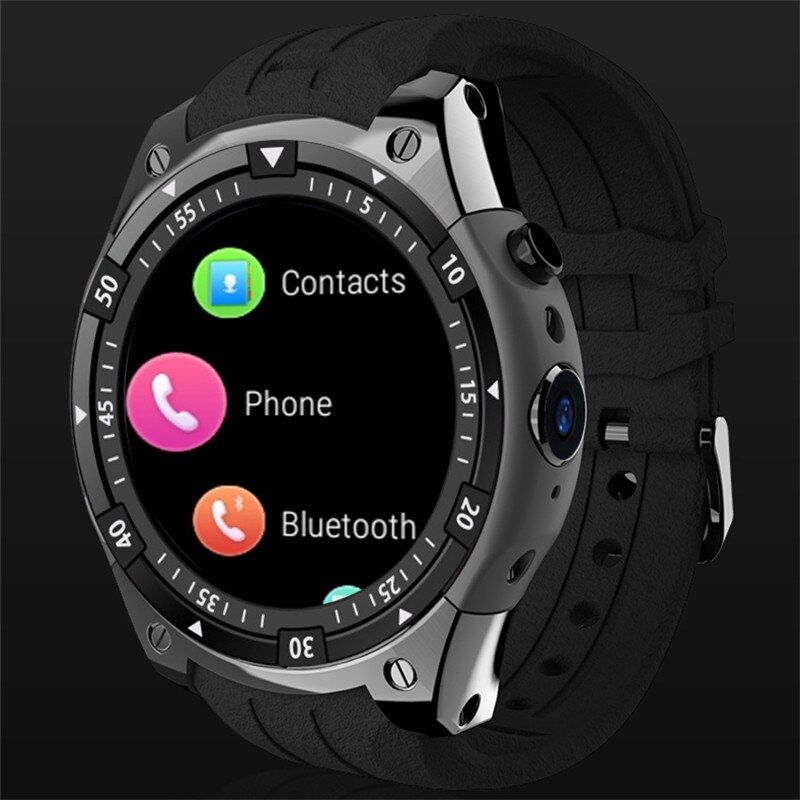3g Smart Uhr X100 MTK6580 Android 5.1 Dual Core Herz Rate GPS WiFi Smartwatch für IOS & Android telefon uhr PK GW11 H1 I4