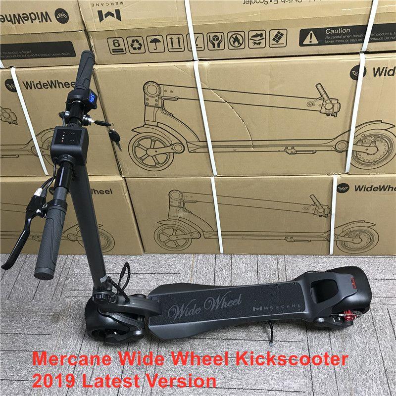 2019 neueste Mercane WideWheel 48V 500 W/1000 W Smart Elektrische Tretroller Faltbare Wide Rad 45 KM/H dual Motor Hoverboard