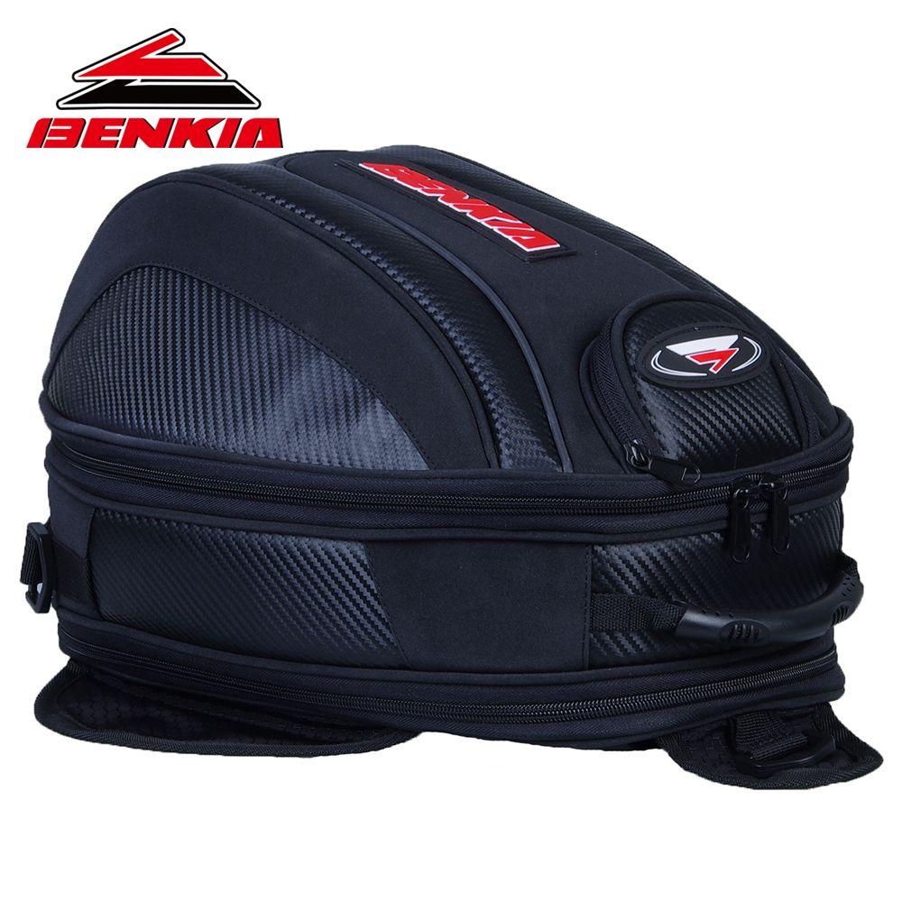 BENKIA Motorcycle Bag Mini Backpack Tank Pack & Oil Tank Bag Moto Luggage Bags Motorcycle Backpack Motorcycle Tank Bag HDF-BP13