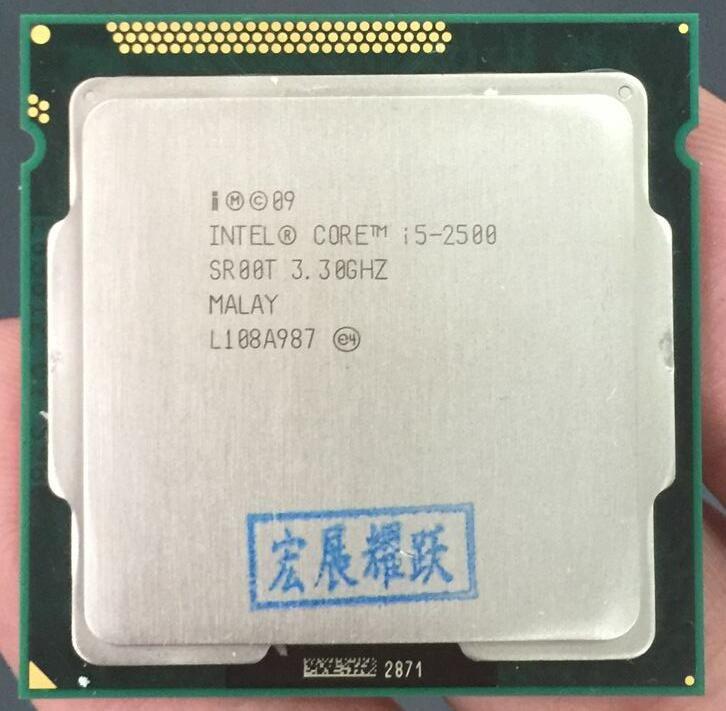 Intel Core i5-2500 i5 2500 Quad-Core CPU LGA 1155 PC Computer Desktop CPU 100% working properly Desktop Processor