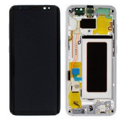 For Samsung Galaxy S8 G950 LCD Display Touch Screen Digitizer Assembly With Frame