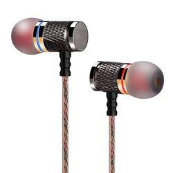 QKZ DM6 Profesional Dalam Telinga Earphone Logam Bass Berat Suara Earphone Musik Berkualitas Tinggi China End Merek Headset fone de ouvido