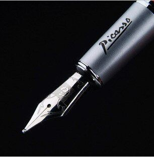 1 pc Picasso stylo 916 fine plume étudiants financiers pratique calligraphie stylo iridium stylo plume cadeau stylo 7 couleurs pas de boîte OWT002