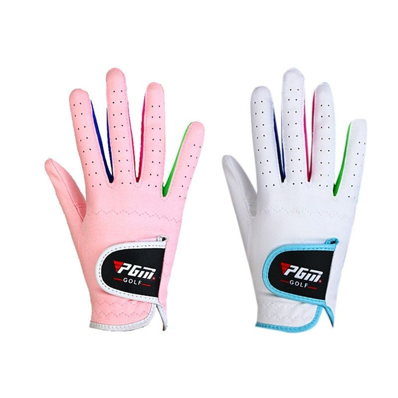 1 Pairs Breathable Anti-slipping Gloves 2 Colors Bebe Boys Girls Outdoor Sport Superfine Fiber Cloth Golf Gloves