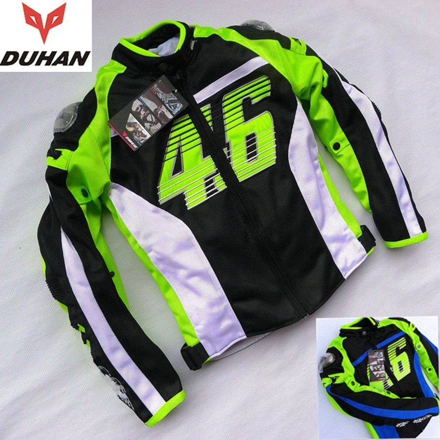 Free shipping 1pcs NEW Men Motorcycle Moto Bike Jacket Racing Suits Armor Riding Clothes with 5pcs pads