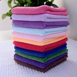 Wholesale 10Pcs Square Luxury Soft Fiber Face/Hand Car Cloth Towel Car Cloth Towel House Cleaning Towels