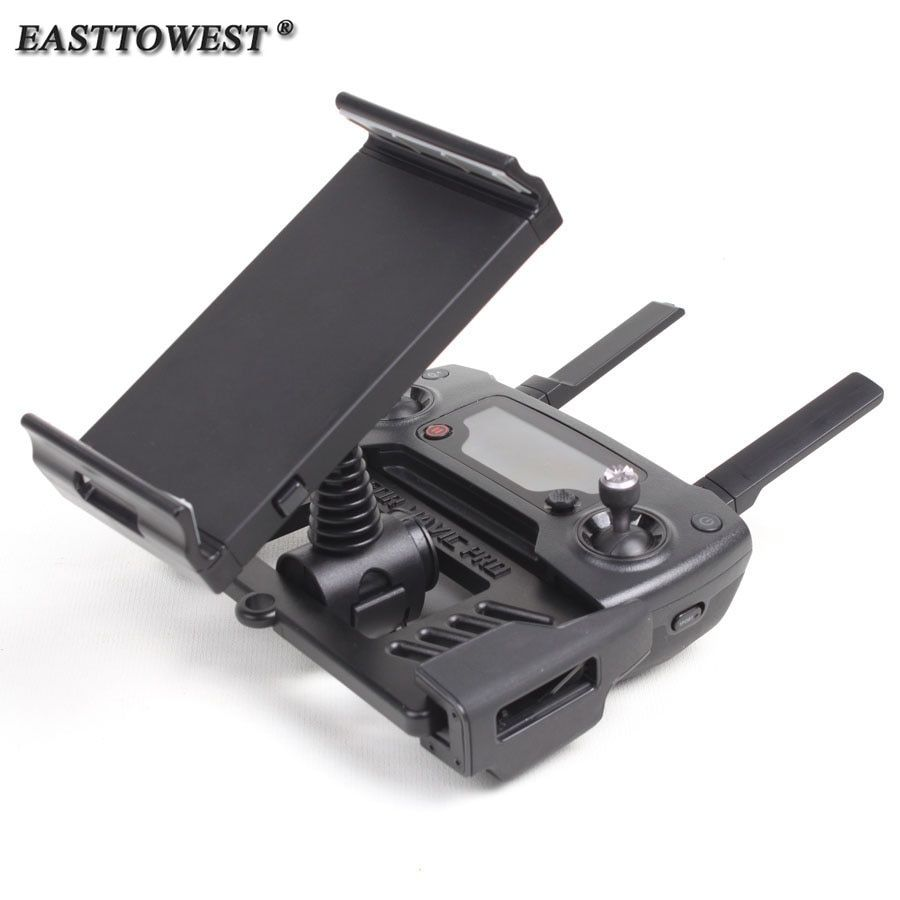 Easttowest 4-12inch Smartphone Tablet Holder Bracket for DJI SPARK & MAVIC PRO Remote Controller Drone Accessories