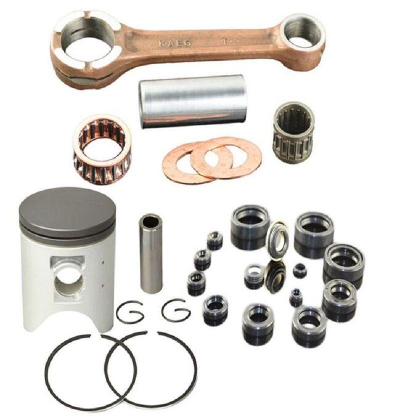 Standard 66.4mm Connecting Rod & Piston Ring Set CRANK ROD Conrod for HONDA CRM250 AR CRM 250 AR KAEG 249cc