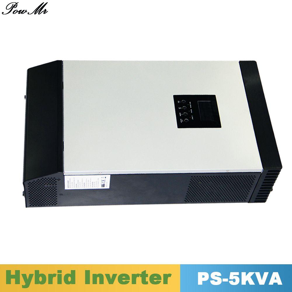 5000VA 4000 Watt Reinen Sinus-Hybrid Wechselrichter 48VDC Eingang Ausgang 220VAC mit PWM Solaraufladeeinheitssteuerpult