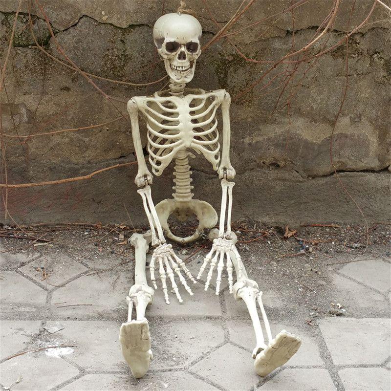 36 pouces 90 cm Halloween squelette 100% en plastique enfants taille squelette pour les décorations d'halloween
